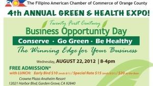 Aug 22: 4th Annual Green & Health Expo!