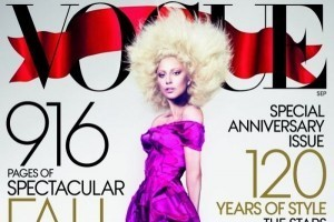 Behind the scenes with Lady Gaga's Vogue cover shoot