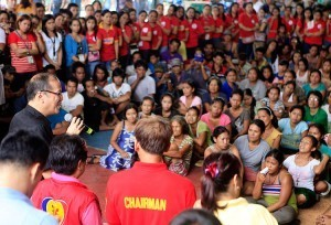 Malacañang appeals to informal settlers to heed government's advice