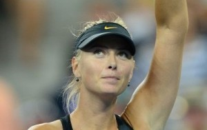Off the court with US Open contestant Maria Sharapova