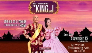 Resorts World Manila announces the opening of 'The King and I' at the Newport Performing Arts Theater, starting from September 15, 2012.
