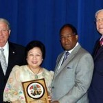 LOS ANGELES COUNTY BOARD OF SUPERVISORS  BIDS FAREWELL TO CONSUL GENERAL ARAGON