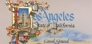 LOS ANGELES CITY RESOLUTION FOR CONGEN ARAGON
