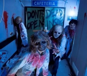 Halloween haunts theme parks around the world