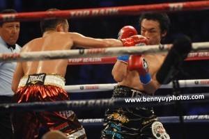 Donaire TKOs Nishioka in round 9