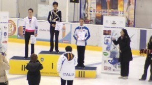 Philippine ice skating phenom wins gold in Romania