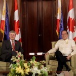 Aquino discusses labor, trade with Canadian PM Harper