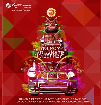 Christmas Jeepney.Resorts World Manila Introduces The Grand Fiesta 2012 To