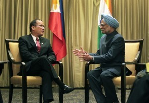 Aquino meets with Indian PM in bilateral meeting