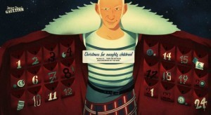 What is Jean Paul Gaultier bringing the naughty this Christmas?