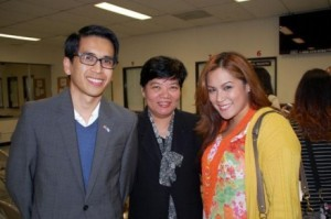 FIL-AM COMMUNITY LEADERS WELCOME  CONSUL GENERAL BARBER-DE LA VEGA