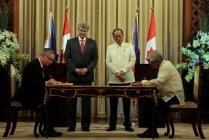 PHL, Canada sign MOU on defense cooperation