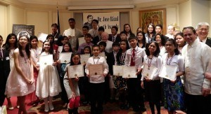 PH Ambassador Calls on Rizal Youth Awardees to Lead Purposeful Lives