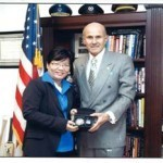 CONSUL GENERAL BARBER DE LA VEGA MEETS WITH LOS ANGELES COUNTY SHERIFF LEROY D. BACA