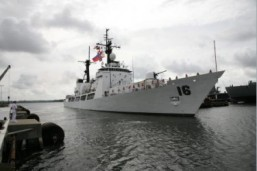 BRP Ramon Alcaraz Successfully Testfires Weapons System