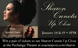 "Pechanga Resort & Casino announces free tickets to ""Sharon Cuneta Up Close"" Contest"