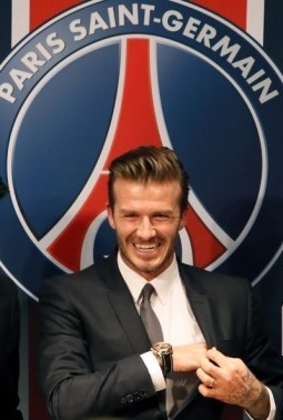 Parisians invited to experience 'David Beckham's Britain'