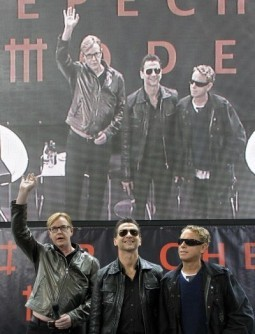 New Depeche Mode songs to be broadcast in Times Square