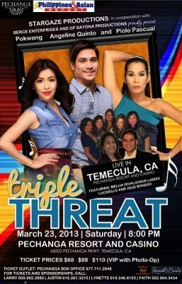 Triple Threat 2013 US Tour comes to Pechanga Resort & Casino