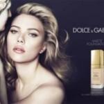 Scarlett Johansson in new Dolce & Gabbana cosmetics campaign