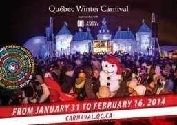 Quebec Winter Carnival ©Quebec Winter Carnival