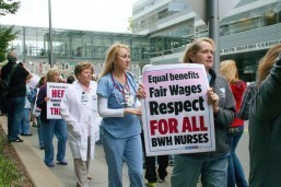 Thousands of nurses set late june strikes in California, Minnesota