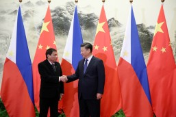 Duterte says he discussed Scarborough Shoal with China's Xi