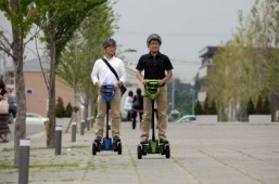 Toyota's two-wheel 'mobility robot' finally takes to the streets