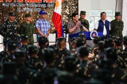 Cayetano urges media: Be fair in reporting extrajudicial killings