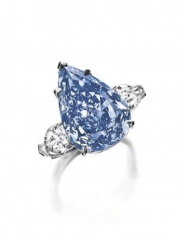 Flawless blue diamond sells for $24 million