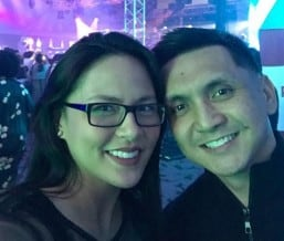 LJ Moreno, Jimmy Alapag welcome third child