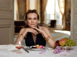 Diane Kruger is the new face of Martell Cognac