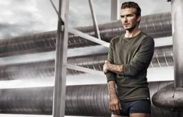 David Beckham stars in new campaign for H&M directed by Nicolas Winding Refn. ©H&M