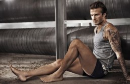 David Beckham stars in new campaign for H&M directed by Nicolas Winding Refn. © H&M