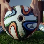 Adidas to stream clips filmed from the perspective of the World Cup football