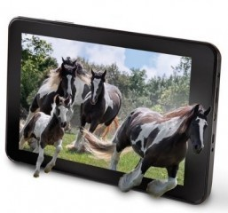 The No Glasses 3D Tablet. © Hammacher Schlemmer & Company, INC