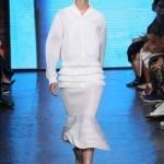 NYFW: layering and volumes at DKNY
