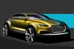 Audi showcar Beijing 2014 Audi is teasing the SUV concept ahead of the Beijing show later in April. ©Audi