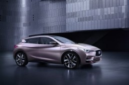 The Infiniti Q30 Concept: first photo