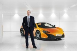 McLaren 500S to arrive in 2015