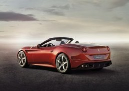 The 2014 Ferrari California T The engine is smaller but thanks to generous use of not one, but two turbochargers, it's faster and more powerful yet more environmentally friendly than the outgoing California. ©Ferrari