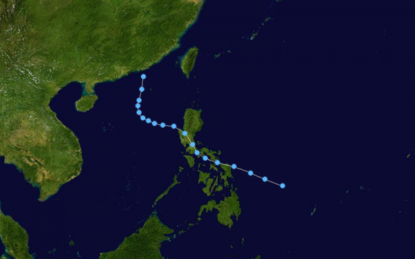 Tropical Storm Elang (PAGASA) track map (photo courtesy of http://commons.wikimedia.org/)