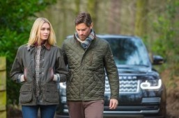 'Barbour For Land Rover' The Autumn Winter '14 collection will go on sale in August. ©Land Rover