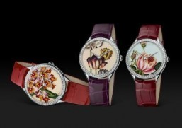 Watches: Vacheron Constantin presents trio of 'Temple of Flora' timepieces
