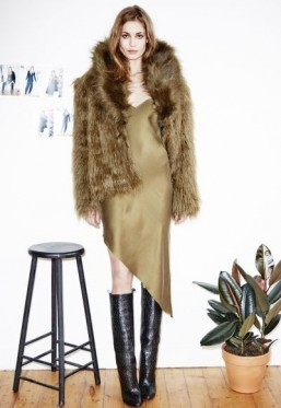 Nadja Bender models H&M Studio fall collection