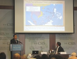 Justice Parpio tells Washington audience: Nine-dash line claim threatens rule of law