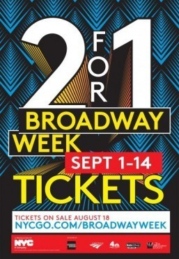 New York kicks off Broadway Week