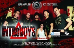 See the Introvoys in One Night for a Cause at NoyPitz Glendale