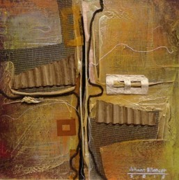 ALKI POINT 1 Mixed media on canvas