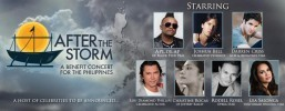 World renowned violinist, Joshua Bell And Glee Star, Darren Criss added to the all-star line-up typhoon Haiyan tribute concert